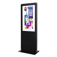 "Digital Totem Lux med 43"" Display - Svart"