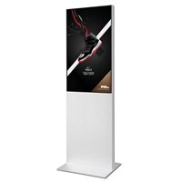 "Smart-Line Totem Digital Skylt med 43"" Display - Vit"