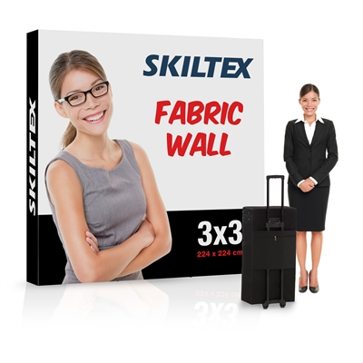 Pop-Up Wall Fabric 3x3 – Inkl. tryck