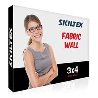Pop-Up Wall Fabric 3x4 – Inkl. tryck